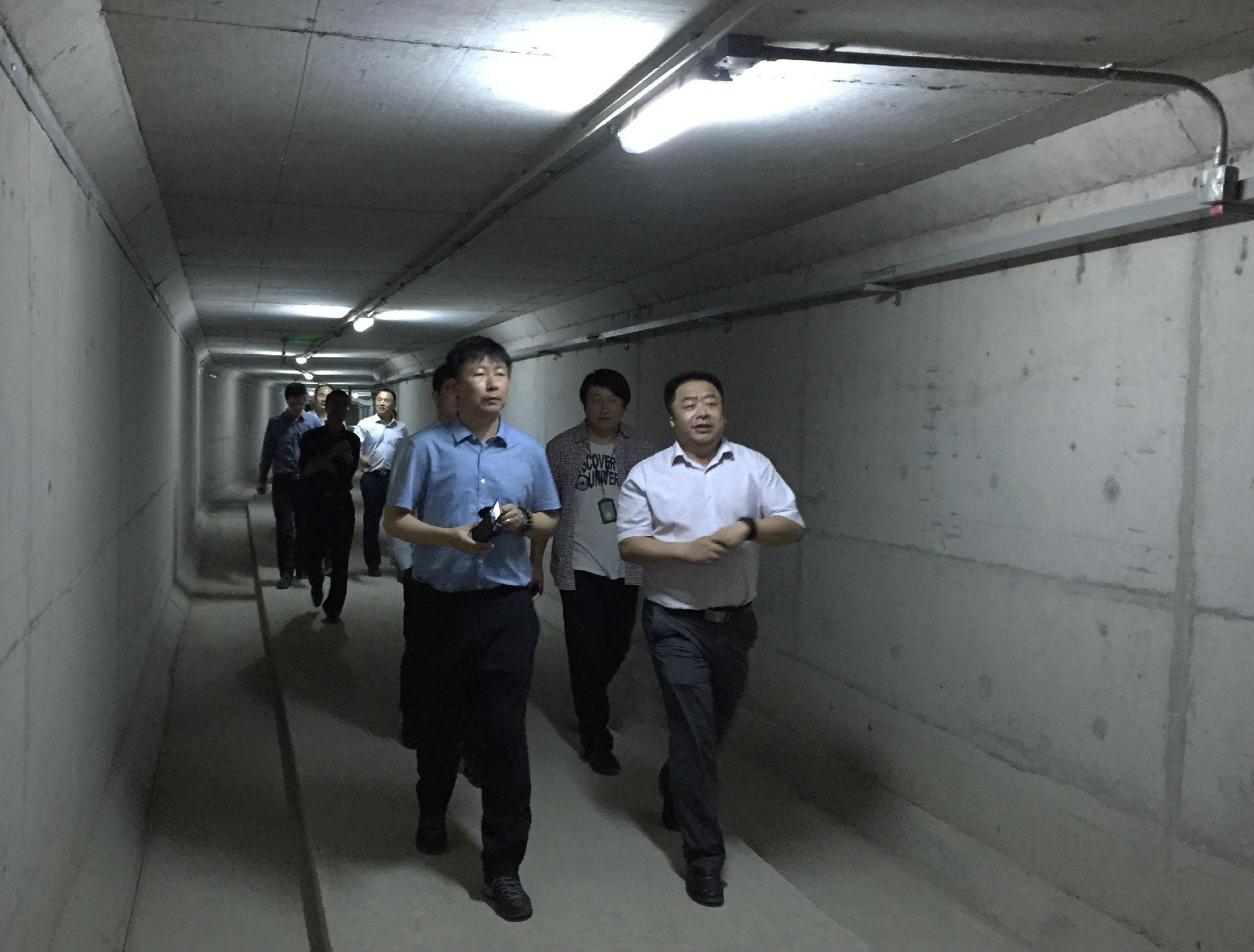 考察了苏州工业园区桑田岛综合管廊